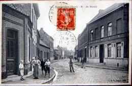 59 ANNOEULLIN  RUE DU MARAIS  ANIMATION VOYAGE 1911 - France