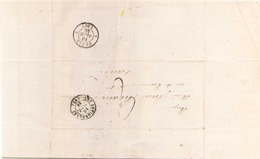 FRANCE ENVELOPPE DU 16 SEPTEMBRE 1840 DE BATIGNOLLES POUR PARIS - Marcophilie (Lettres)