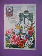 Carte-Maximum   N° 1189  Floralies Parisiennes 1959 - Maximum Cards