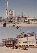 CHINE - LIAOYANG - 8 PHOTOS 1980 USINE PETROCHIMIQUE - DIM 17,5x12,5 Cms - Albums & Collections