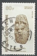 Ivory Coast 1988. Scott #859 (U) Stone Heads From The Niangoran-Bouah Archaelogical Collection - Côte D'Ivoire (1960-...)