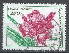 Ivory Coast 1991. Scott #917 (U) Fleurs, Flowers - Côte D'Ivoire (1960-...)