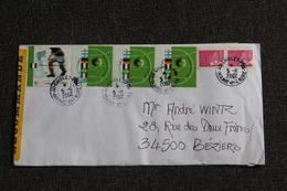 Enveloppe Timbrée Recommandée De CHOLET à BEZIERS - Marcophilie (Lettres)