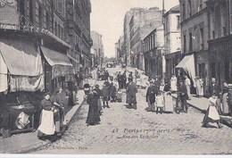 PARIS 17°  Série Hirondelle N° 43  Rue Des EPINETTES Montant Sur La Rue NAVIER  Commerces Animation Ecrite 1907 - Distrito: 17