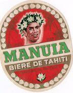 MANUIA  ( Bière Tahitienne Année 1966-67 ) - Birra