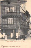 01-BOURG- VIEILLE MAISON DE BOIS 1496 - Bourg-en-Bresse