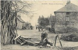 58. ALLIGNY.   HAMEAU DE PIERRE ECRITE - France