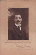 LOUVAIN Photo CDV Homme Par Edouard MORREN Années 1920 Format Carton A5 - Personnes Anonymes