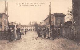 01-VALBONNE- LE CAMP- LE PASSAGE A NIVEAU - France