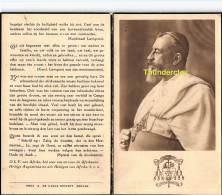 AUGUST LEOPOLD HUYS CONGO RUSICADE LEOPOLDSSORDE BRUGGE 1871 CARTHAGO BINSON ALBERTVILLE 1938 - Images Religieuses