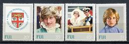 1982 - FIJI - Catg. Mi.  464/467 - NH - (R-SI.331.713 -  50) - Fiji (1970-...)