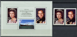 1982 - FIJI - Catg. Mi.  468/470 - NH - (R-SI.331.713 -  51) - Fiji (1970-...)