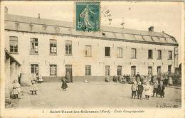 SAINT VAAST Lez SOLESMES - ECOLE CONGREGANISTE - - France
