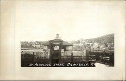 Bagotville Quebec St. Alphonse Lighthouse Real Photo Postcard - Canada