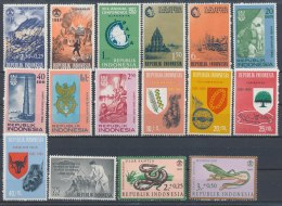 Indonesië/Indonesia/Indonésie/Indonesien 80x (4 Scans)(PF/MNH/Neuf Sans Ch/**)(2692) - Indonesië