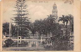 Brazil - S. Paulo - Jardim Da Luz - Early Postcard - São Paulo