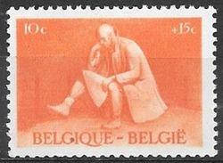 1945 10c+15c Prisoner Of War, Mint Never Hinged - Belgium
