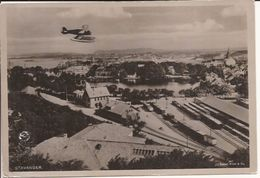 STAVANGER Airplane And Railwaystation  NORWAY NORGE Not Posted Condition !! 1150 D2 - Norvège