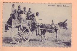 Cpa Carte Postales Anciennes   - Palermo Carretto Siciliano - Palermo