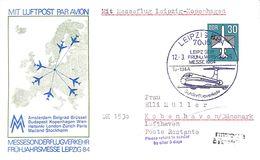 Luftpost Amsterdam Belgrad Brüssel...1984 - Avions