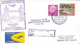 Deutsche Lufthansa Köln London 1957 - Avions