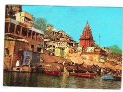 DASASWMEDH E SHEETLA GHAT, VARANASI - VIAGGIATA 1980 - (818) - India