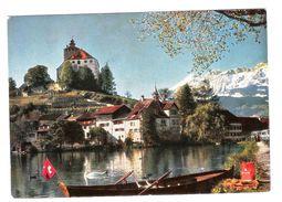 WERDENBERG BEI BUCHS, SCHWEIZ MIT SANTISGRUPPE 2502 M. - VIAGGIATA 1970 - (820) - Liechtenstein