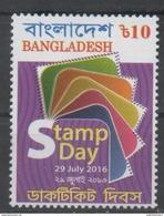 BANGLADESH ,2016, MNH, PHILATELY, STAMP DAY, 1v - Journée Du Timbre