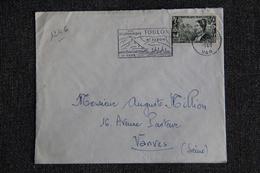 Enveloppe Timbrée De TOULON à VANVES - 1921-1960: Modern Period