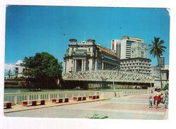 FULLERTON BUILDING, SINGAPORE  - VIAGGIATA 1979 - (937) - Singapore