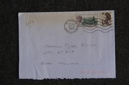 Enveloppe Timbrée De VANVES à TOULON - Marcophilie (Lettres)