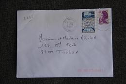 Enveloppe Timbrée De VANVES à TOULON ( YT - 2285 ) - Marcophilie (Lettres)