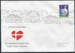 1987 Denmark Germany  Schiffspost  MF DRONNING MARGRETHE 2 Ship Cover Rodby / Fehmern PAQUEBOT - Danimarca