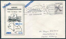1986 Denmark Germany  Schiffspost  MF DANMARK Ship Cover Rodby / Fehmern PAQUEBOT Skibspost - Danimarca