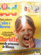Revue VSD N° 1000 (24 Au 30/10/96).  Scan Couverture Et Programme (Les Vignerons Stars. .) - People