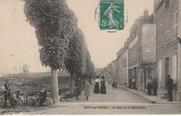 Pont Sur Yonne-Le Quai De La Republique. - Pont Sur Yonne