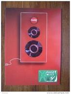 MTV Coca Cola Carte Postale - Advertising