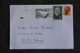 Enveloppe Timbrée De TOULON à VANVES ( YT - 87/2442) - Marcophilie (Lettres)