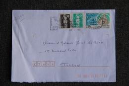 Enveloppe Timbrée De CARNAC à TOULON  ( YT - 2799 ) - Marcophilie (Lettres)