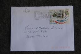 Enveloppe Timbrée De CARNAC à TOULON  ( YT - 89/2781 ) - Marcophilie (Lettres)