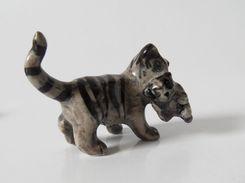 Fève Miniature Creuse Chat - Non Classés