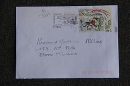Enveloppe Timbrée De CARNAC à TOULON  ( YT - 89/2782 ) - Marcophilie (Lettres)