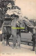 CPA L'ELEPHANT OLIFANT ELEPHANT ENFANTS MARQUE LL CIRQUE CIRCUS - Éléphants