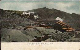 Probably Ppenna - Coal Breaker & Culm Pile - Mining C1910 Postcard - Verenigde Staten