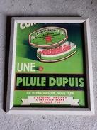 Affiche Pharmacie PILULES DUPUIS LILLE 59 LAXATIVES ANTIBILIEUSES DEPURATIVES AMAIGRISSANTES Illustration Boite - Posters