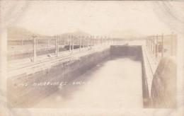 Panama Canal Miraflores Locks Real Photo