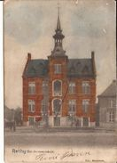 RETIE RETHY GEMEENTEHUIS  1903 Stempel Ingekleurd - Uitg. Meuleman 1147 /d2 Staat !! - Retie