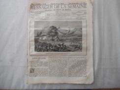 MESSAGER DE LA SEMAINE 6 AVRIL 1878  ATTAQUE DES YANBARI CONTRE LE COLONEL CHAILLE-LONG L'AFRIQUE CENTRALE,LES GREVES DE - Journaux - Quotidiens