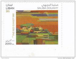 Lebanon-Liban New Issue 2015,Painting By Saliba Douaihy  1v.compl.set.MNH-Paiting Topic - - Lebanon