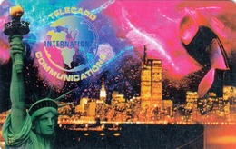 USA -  INTERNATIONAL COMMUNICATIONS,Statue Of Liberty ,prepaid Card $20, Used - Vereinigte Staaten